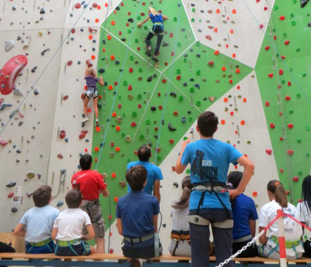 Open day al King Rock: grandi e piccini provano l'arrampicata!